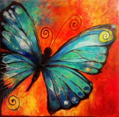 Butterfly drawing | Needlepoint Kits
