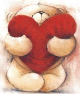 Bear with heart | Needlepoint Kits
