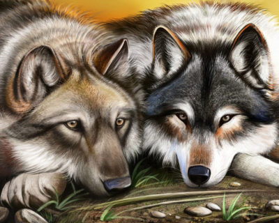 Wolves | Needlepoint Kits