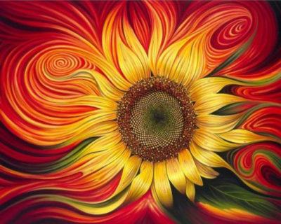 Bright sunflower | Needlepoint Kits