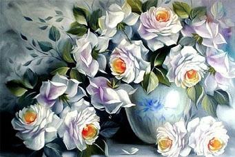 White Rose | Needlepoint Kits