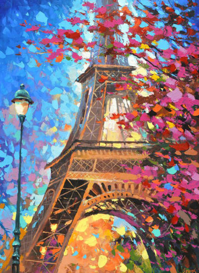 At the Eiffel Tower | Needlepoint Kits