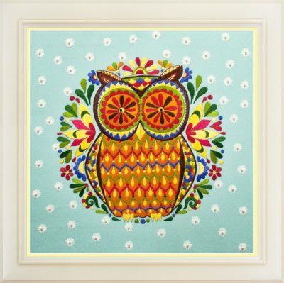 Owl   Needlepoint Kits