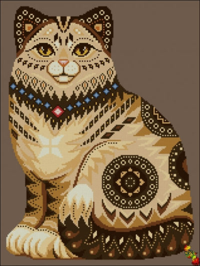 Cat | Needlepoint Kits