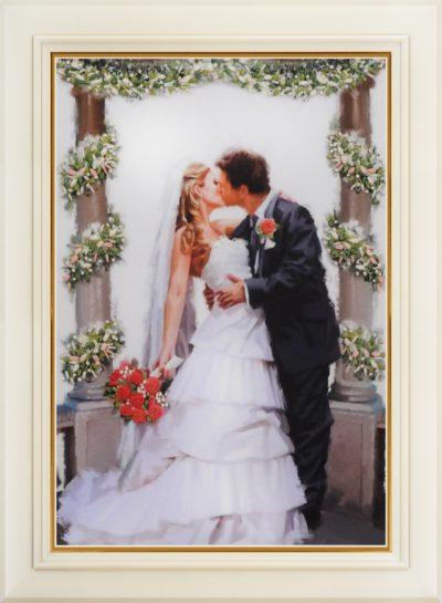 Kiss the bride | Needlepoint Kits