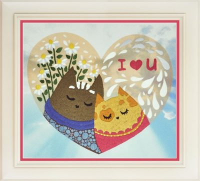 Valentine card | Needlepoint Kits
