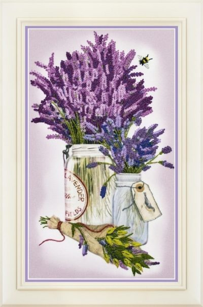 Lavender bouquet | Needlepoint Kits