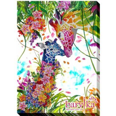 Bright giraffes | Needlepoint Kits