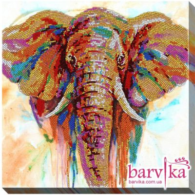 Colorful elephant | Needlepoint Kits
