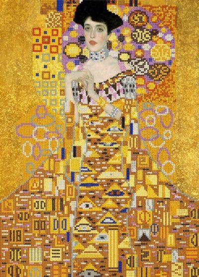 Golden Adele by Gustav Klimt | Needlepoint Kits