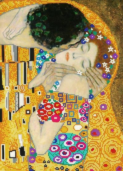 The Kiss by Gustav Klimt | Needlepoint Kits