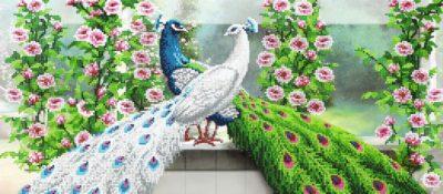 Lovely Peacocks | Needlepoint Kits