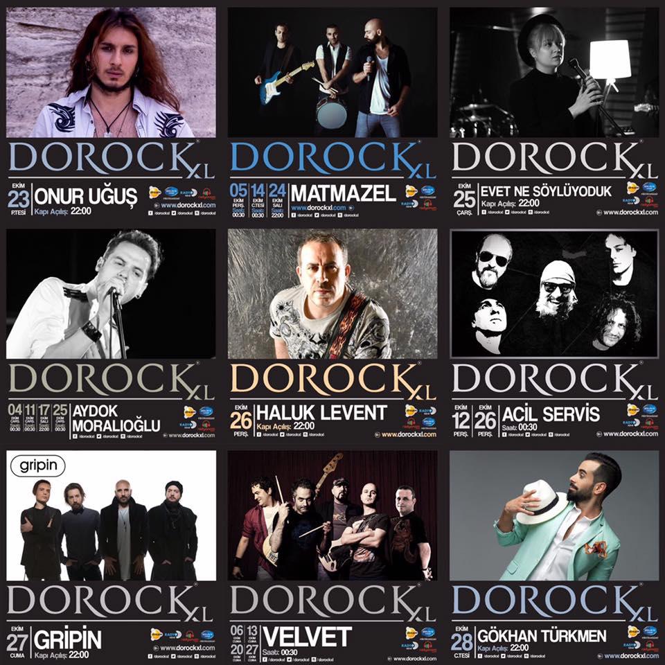 Dorock XL Konser Takvimi