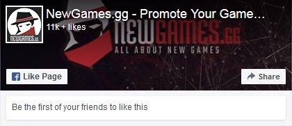 Newgames Facebook Page