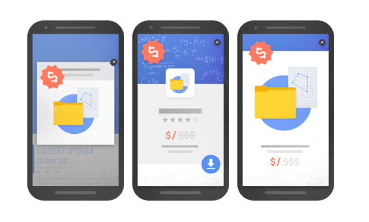 Google накажет сайты с полноэкранными баннерами в 2017 году