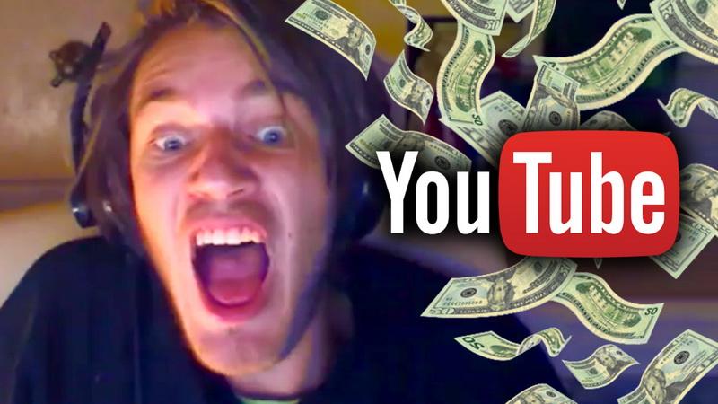 Сколько зарабатывает самый популярный YouTube-блогер?