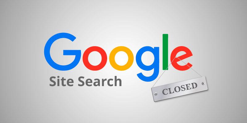 Платный поисковик Google Site Search отключат этой весной