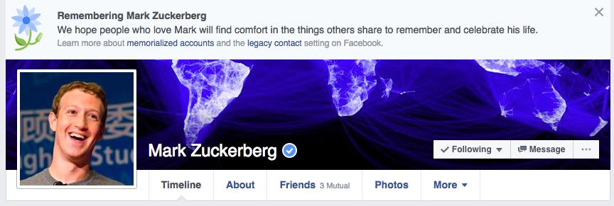 Цукерберг убил пользователей Facebook