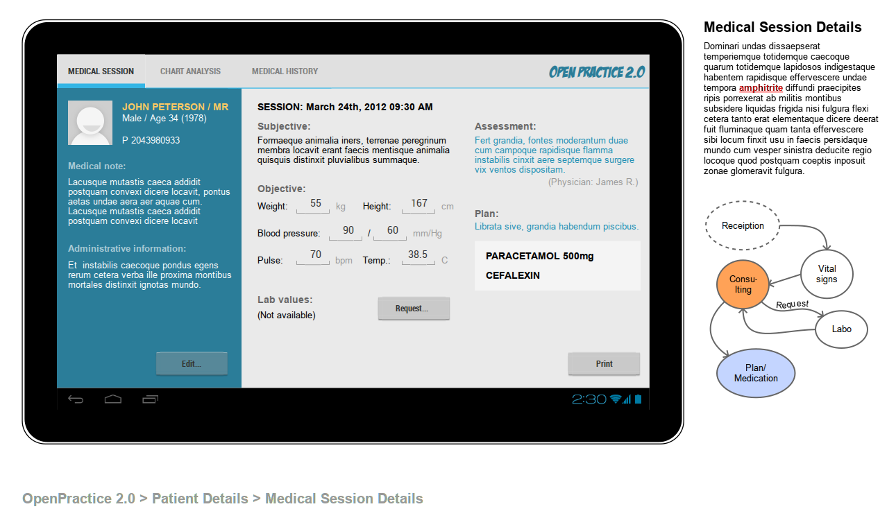 Бесплатный сервис для прототипов сайта