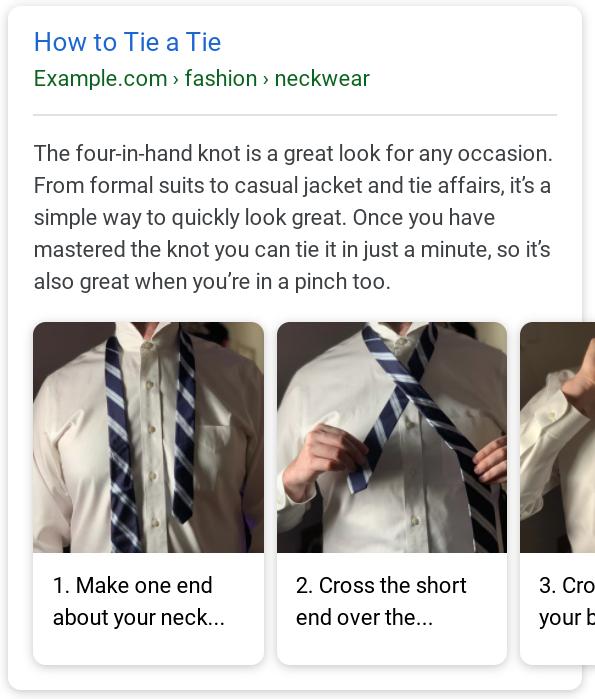 Разметка How-to