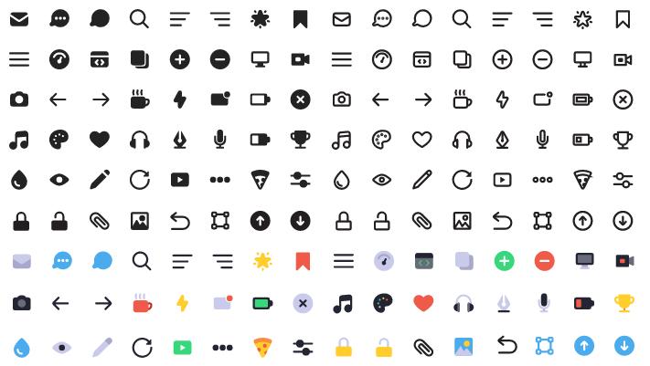 Бесплатные иконки для коммерческого использования