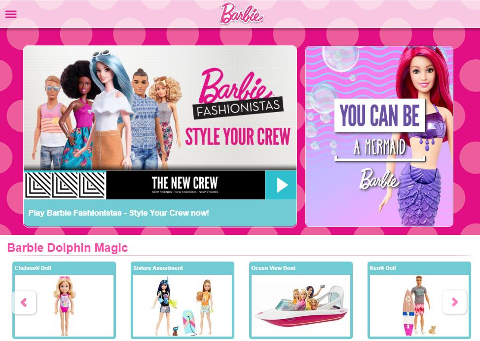 розовый дизайн сайта