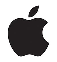 символьный логотип apple