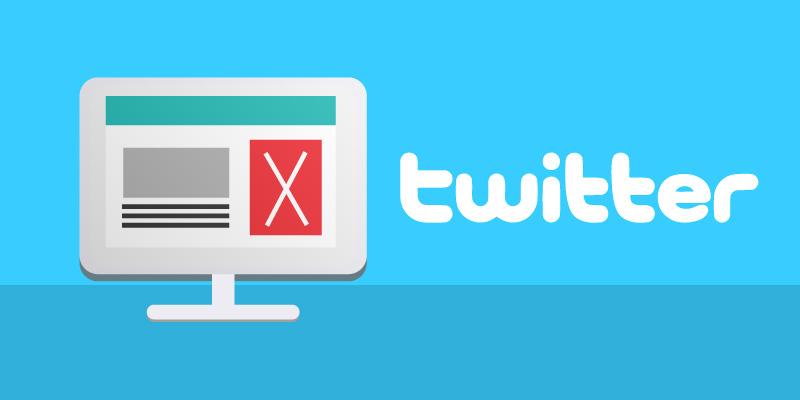 Россиянам рекомендуют отказаться от рекламы в Twitter