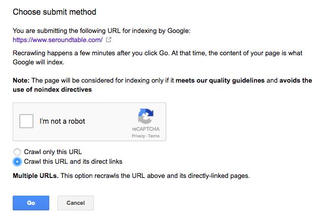 Google отменил лимит запросов на индексацию страниц?