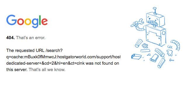 Кэш-ссылки и ошибка 404: каково влияние на поисковое продвижение?