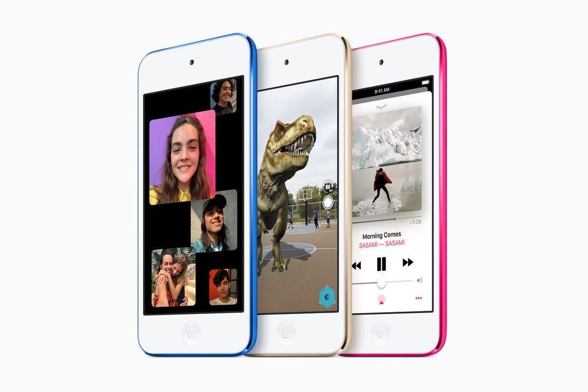 Apple представила необычный iPod Touch