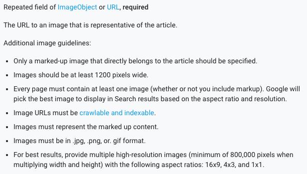 Google: изображения в AMP-статьях должны быть больше