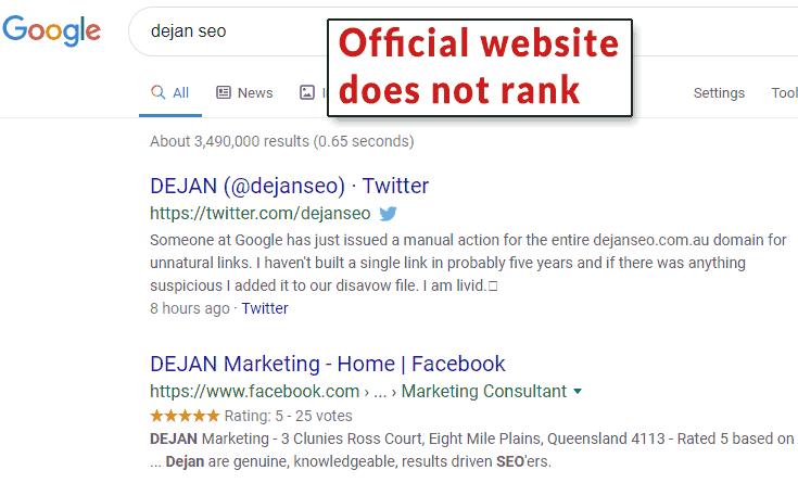 Google продолжает наказывать сайты за неестественные обратные ссылки