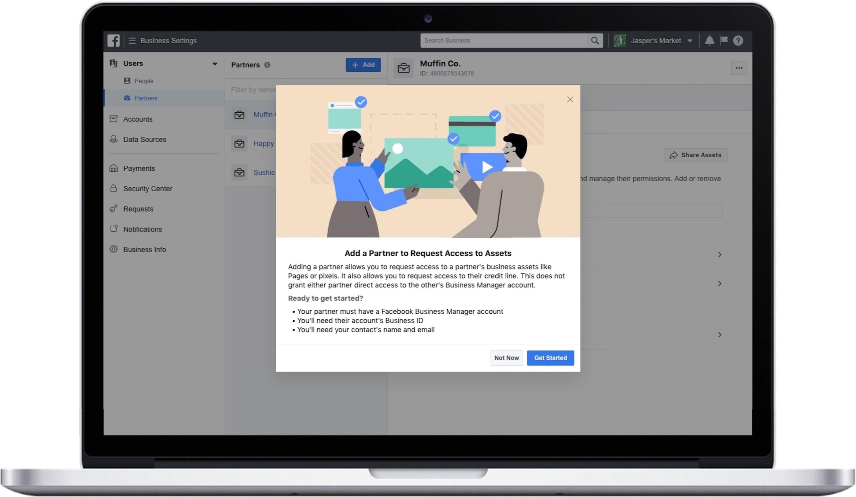 Facebook представила обновленный Business Manager
