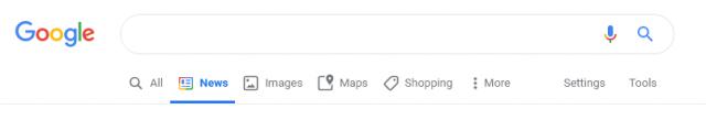 Google обновил меню поиска