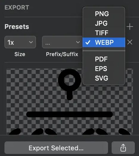 конвертировать изображение в webpr