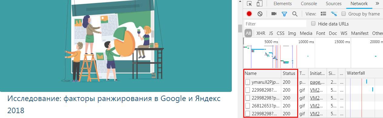 Как посмотреть код сайта в браузере