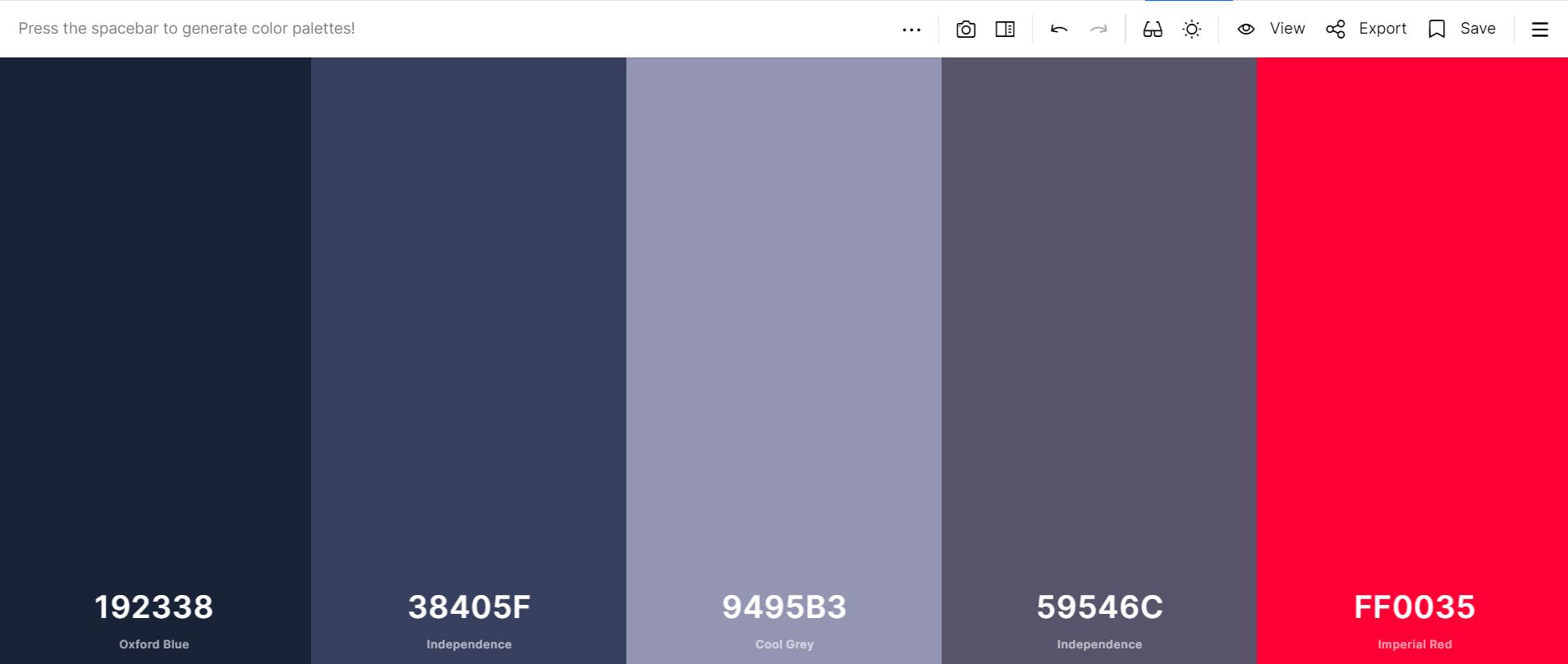 цветовые схемы для дизайна