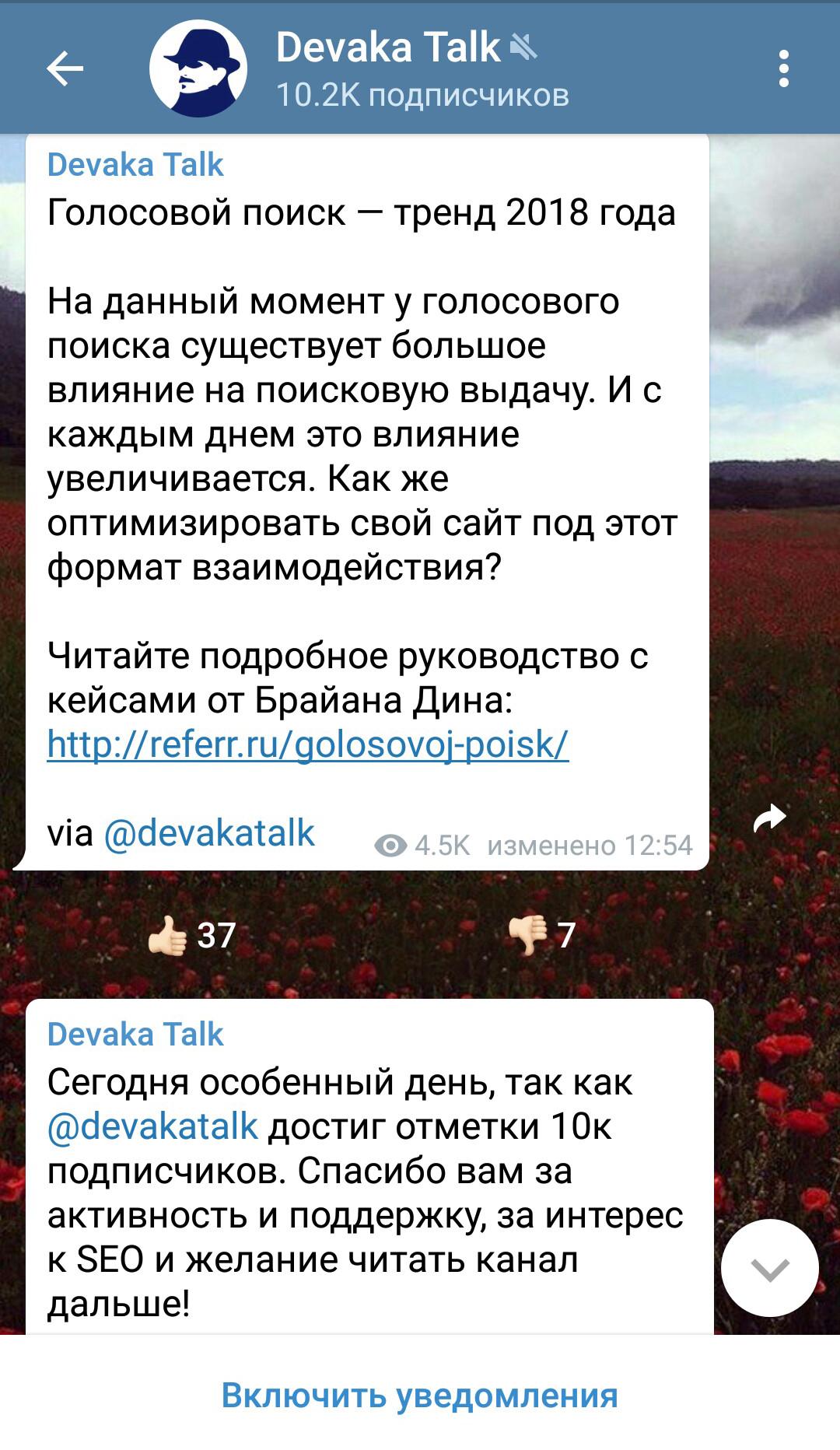 образовательный канал в телеграме