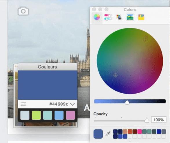 определение цветов