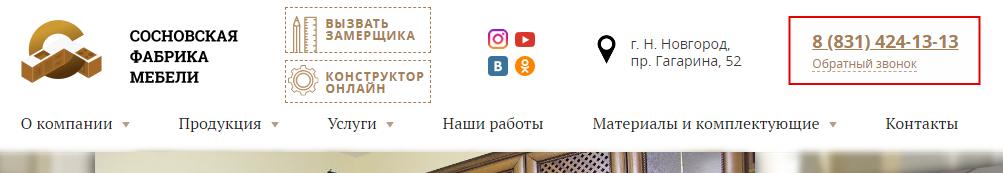 Куда поставить номер телефона на сайте