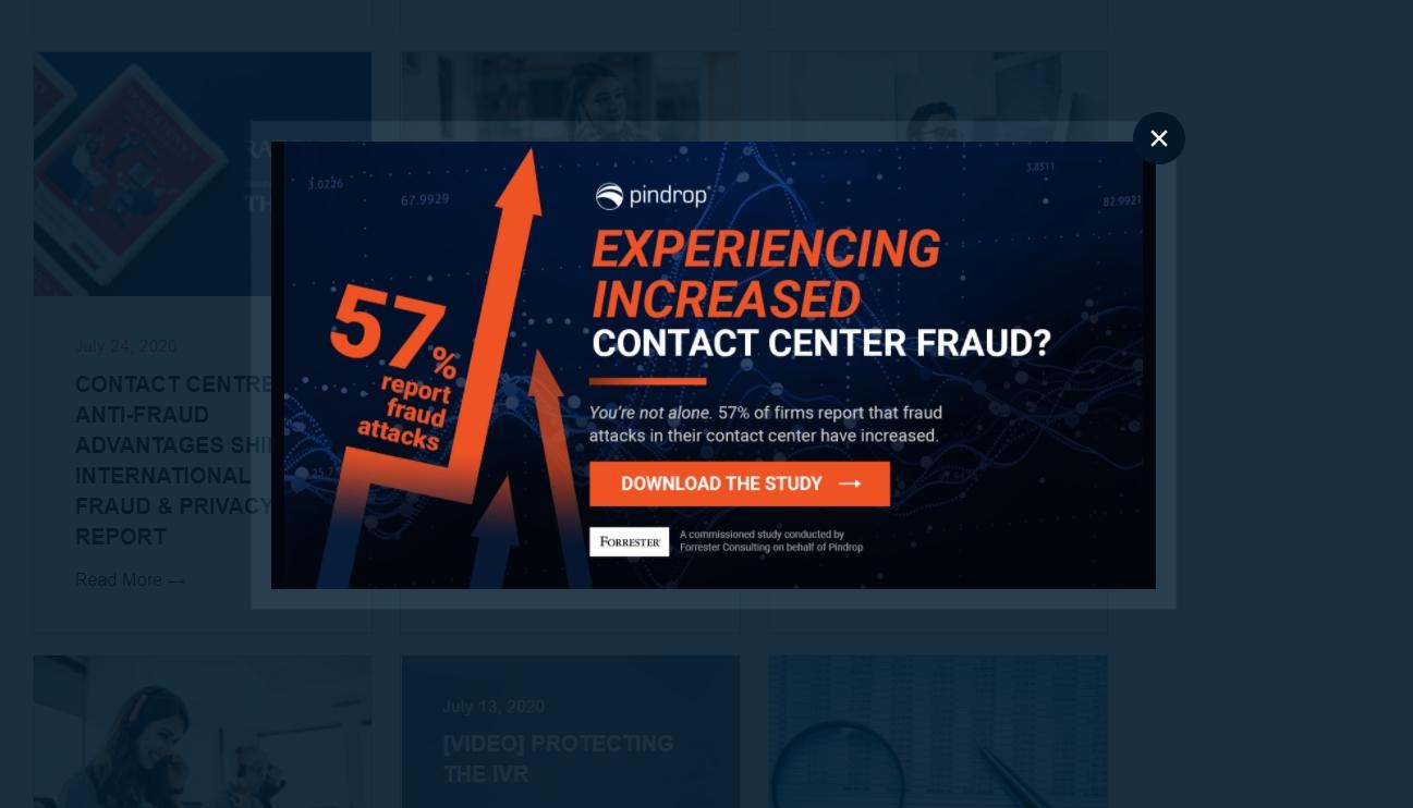 Pop-up в корпоративном блоге компании