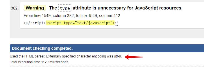 Сервис для проверки кодировки на сайте