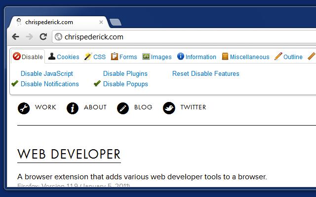 Расширение Google Chrome для просмотра CSS и JS