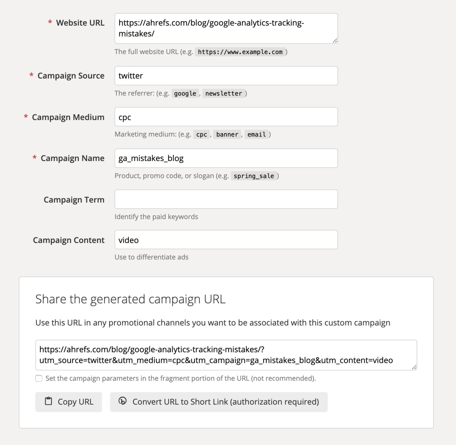 Как сделать ссылки с UTM-метками
