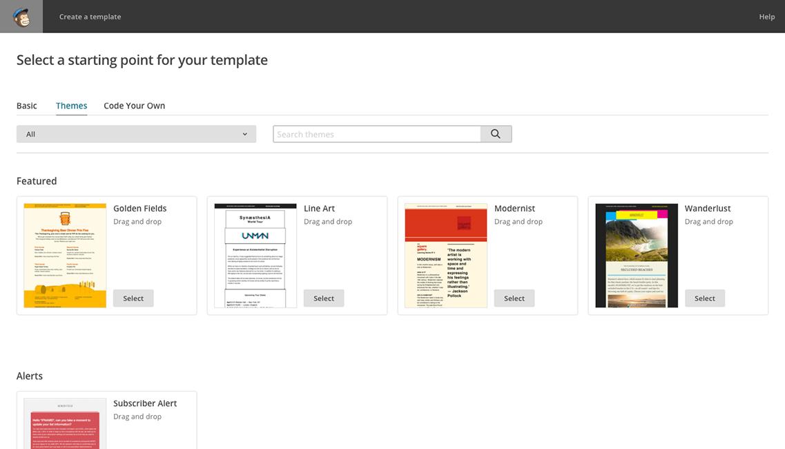 Онлайн сервис для создания и запуска рассылок