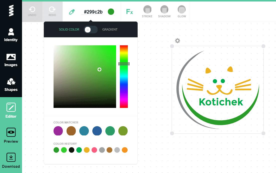 онлайн конструктор лого