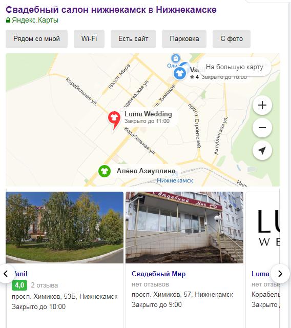 Обложки компаний в Яндекс.Справочнике