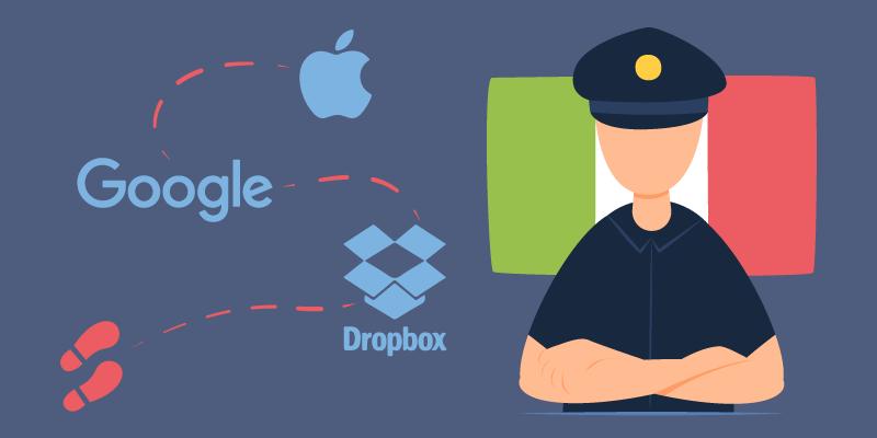 Google, Apple и Dropbox вновь попали под прицел антимонопольщиков