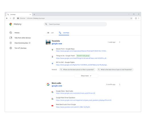 В Google Chrome появится боковая панель с результатами поиска1